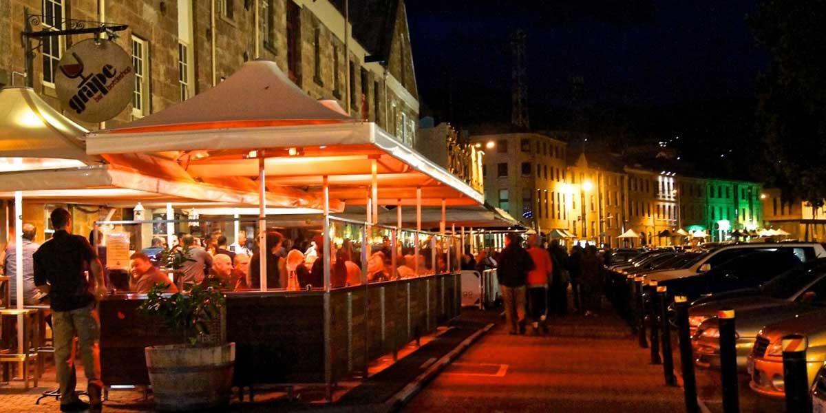 Riviera Restaurant During the Night - SolVibrations