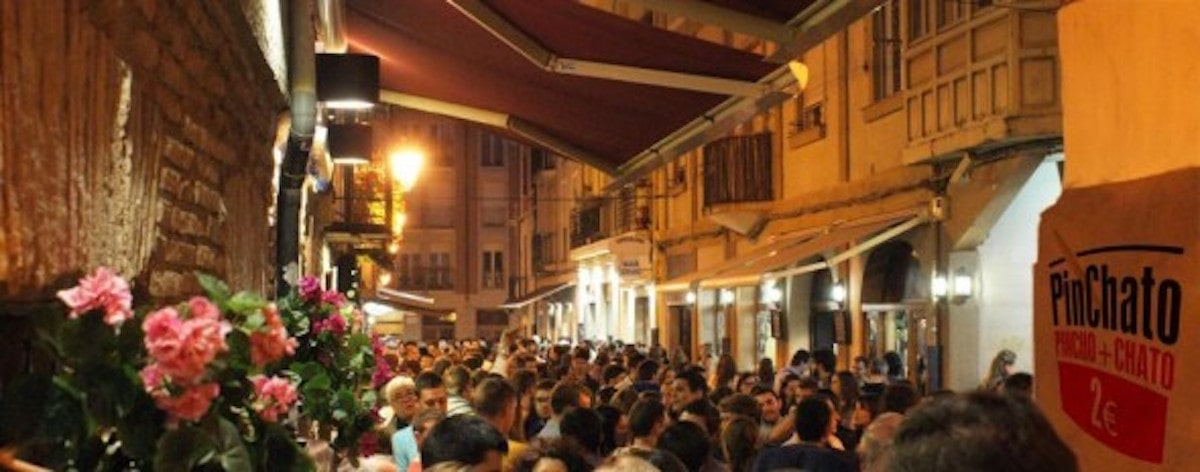 City Street Full of People During the Night - SolVibrations