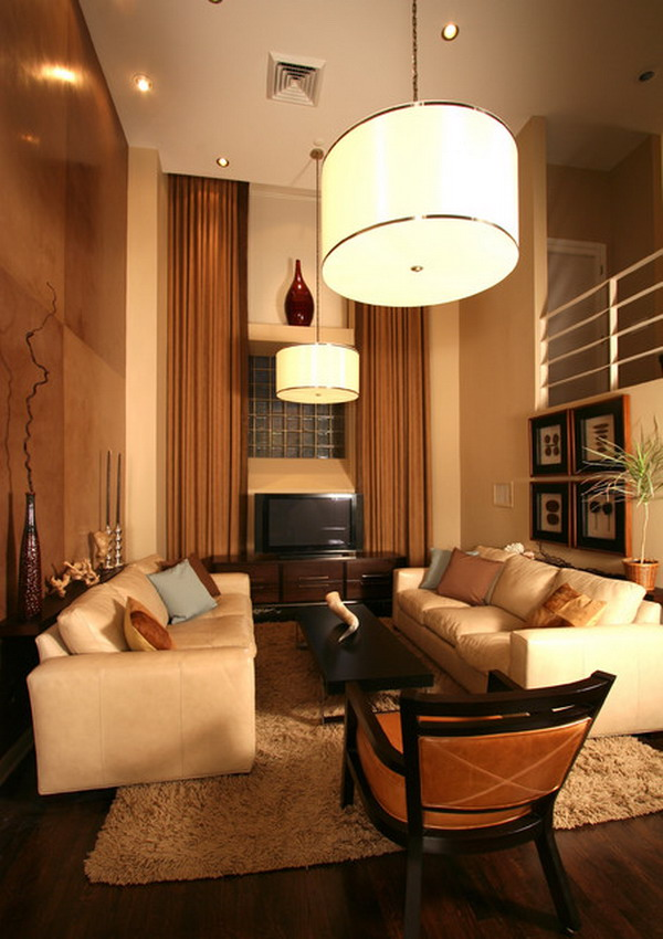 Drawing Of Living Room: Illuminate The Living Room Perfectly