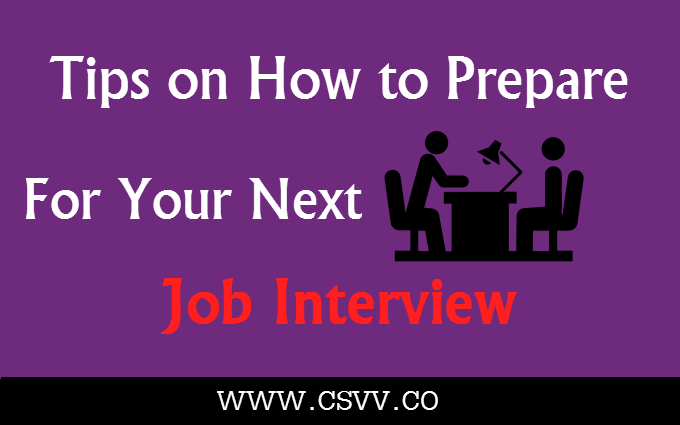 Tips on How to Prepare for Your Next Job Interview