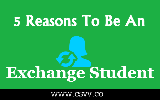 5 Reasons To Be an Exchange Student
