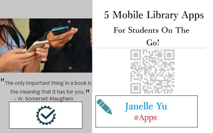 5 Mobile Library Apps for Students on the Go