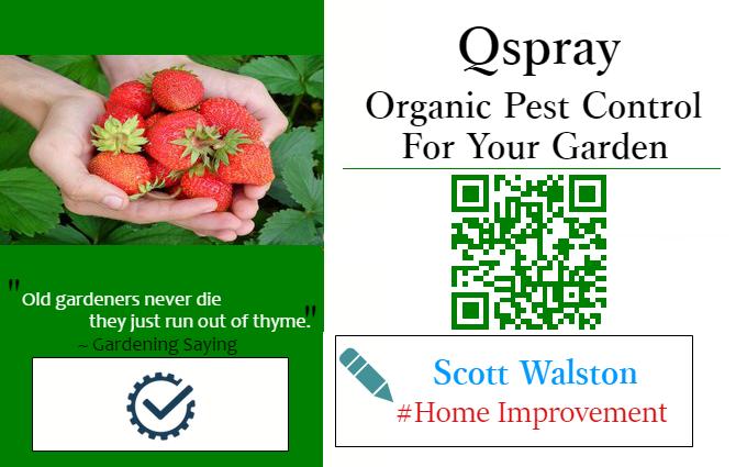 Qspray – Organic Pest Control for Your Garden