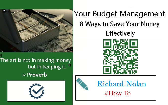 Your Budget Management: 8 Ways to Save Your Money Effectively
