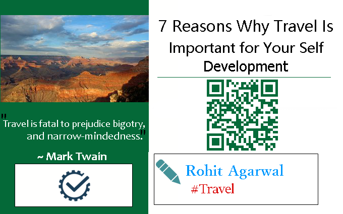 7 Reasons Why Travel Is Important for Your Self Development