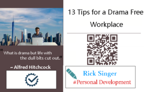 13 Tips for a Drama Free Workplace