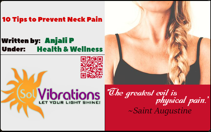 10 Tips to Prevent Neck Pain
