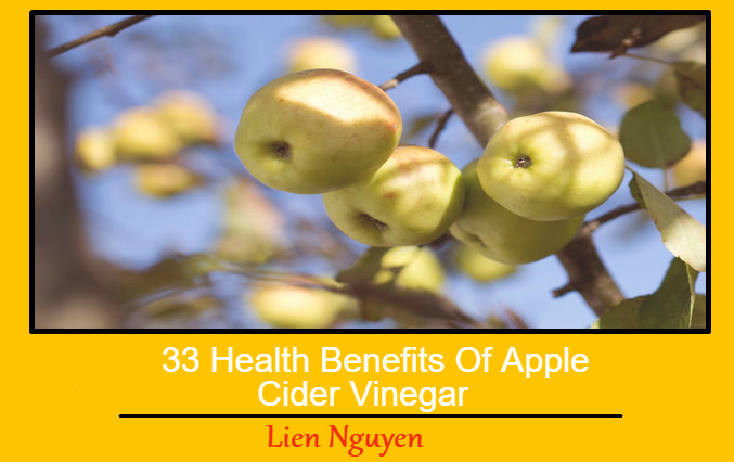 33 Health Benefits Of Apple Cider Vinegar