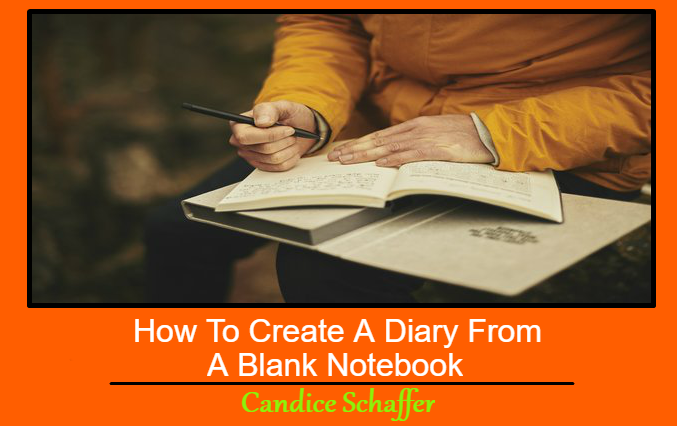 How To Create A Journal From A Blank Notebook