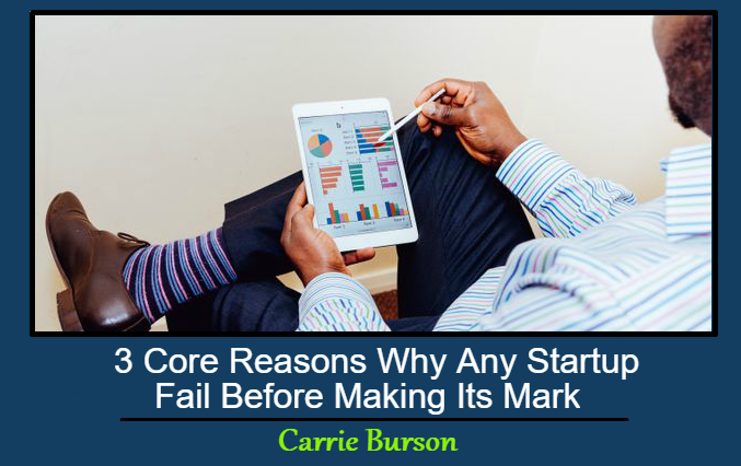 3 Core Reasons Why Any Startup Fail Before Making Its Mark