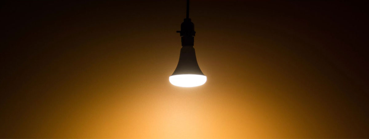 Warm Light Bulb for Home - SolVibrations