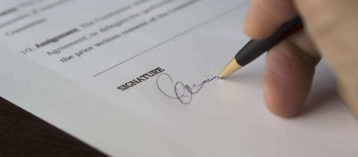 Signature on the Contract - SolVibrations